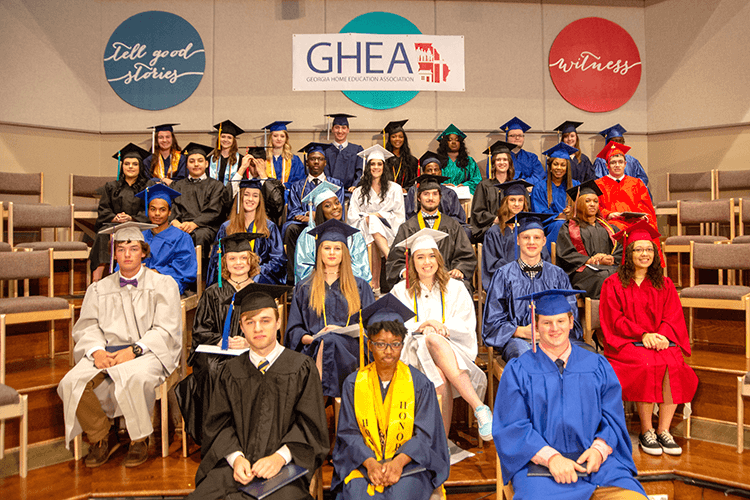 2018 GHEA Graduation Ceremony | Georgia Home Education Association